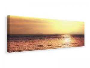 Ljuddämpande tavla - Sunset At The Lake - SilentSwede