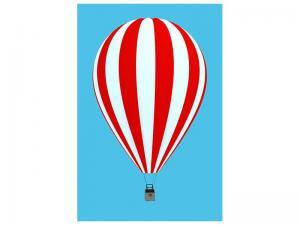 Ljudabsorberande tavla - Ballon Ride - SilentSwede