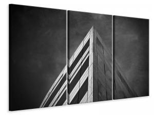 Ljuddämpande tavla - Close up modern architecture - SilentSwede