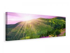 Ljuddämpande tavla - A Summer Landscape At Sunrise - SilentSwede