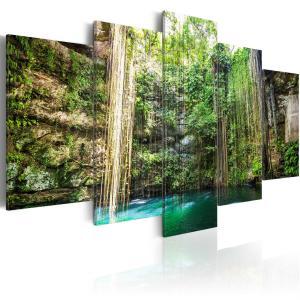 Ljuddämpande tavla - Waterfall of Trees - SilentSwede