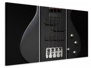 Ljuddämpande tavla - Guitar in black - SilentSwede