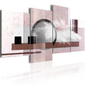 Ljuddämpande tavla - Abstraktion med en pärla - SilentSwede