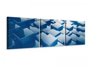 Ljuddämpande tavla - 3D Cubes II - SilentSwede