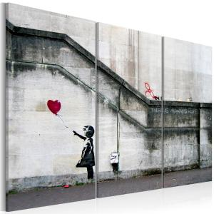 Ljuddämpande tavla - Girl With a Balloon by Banksy - SilentSwede