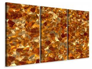 Ljuddämpande tavla - 3D Ambers - SilentSwede