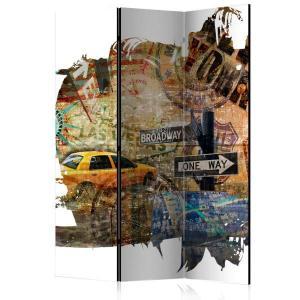 Rumsavdelare - New York Collage - SilentSwede