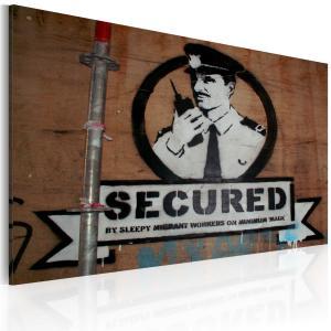 Ljuddämpande tavla - Secured - SilentSwede