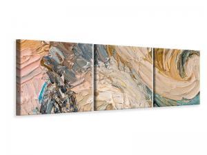 Ljudabsorberande 3 delad tavla-Oil Painting - SilentSwede