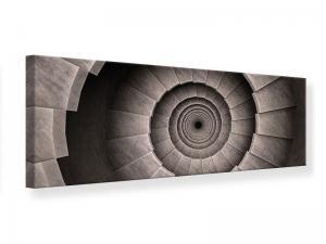 Ljudabsorberande panorama tavla - Stone Spiral Staircase - SilentSwede