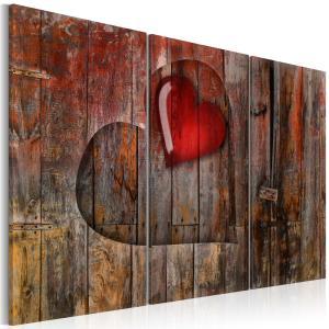 Ljuddämpande tavla - Heart to heart - SilentSwede