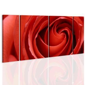 Ljuddämpande tavla - Passionate rose - SilentSwede