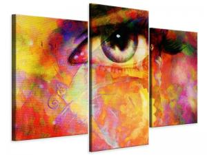 Ljudabsorberande 3 delad tavla-The Eye - SilentSwede
