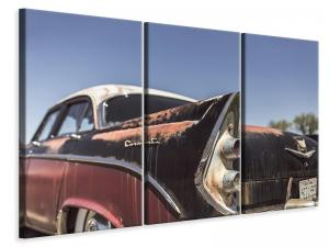 Ljuddämpande tavla - Colorful vintage car - SilentSwede