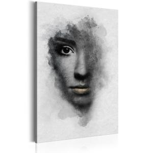 Ljuddämpande tavla - Grey Portrait - SilentSwede