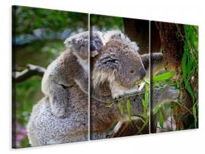 Ljuddämpande tavla - Mom and baby koala - SilentSwede