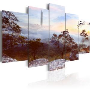 Ljuddämpande tavla - Tower and horizon - SilentSwede