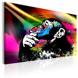 Ljuddämpande tavla - Monkey Disco - SilentSwede