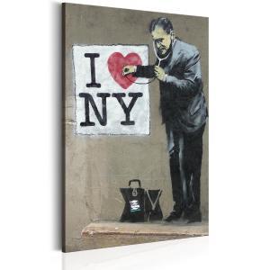 Ljuddämpande tavla - I Love New York by Banksy - SilentSwede