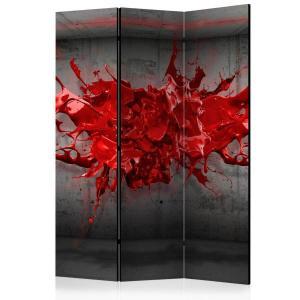 Rumsavdelare - Red Ink Blot - SilentSwede