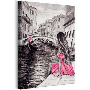 Ljuddämpande tavla - Woman in Venice - SilentSwede