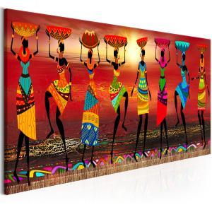 Ljuddämpande tavla - African Women Dancing - SilentSwede