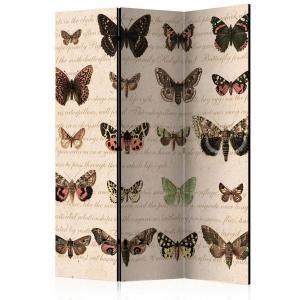 Rumsavdelare - Retro Style: Butterflies - SilentSwede
