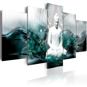 Ljuddämpande tavla - Azure Meditation - SilentSwede