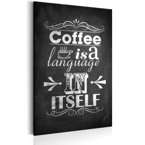 Ljuddämpande tavla - Coffee Language - SilentSwede