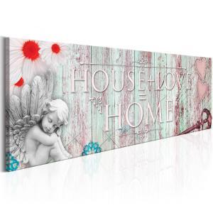 Ljuddämpande tavla - Home: House + Love - SilentSwede
