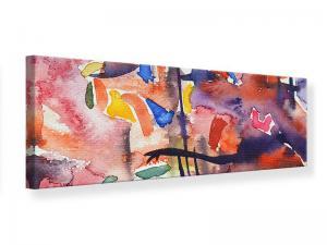 Ljudabsorberande panorama tavla - Watercolor - SilentSwede