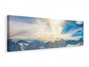 Ljuddämpande tavla - Over The Snowy Peaks - SilentSwede