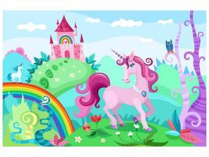Ljudabsorberande tavla - Princesses Dream - SilentSwede