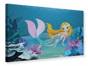 Ljuddämpande tavla - The Mermaid - SilentSwede