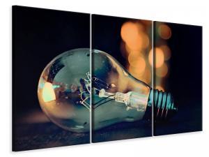 Ljuddämpande tavla - A lightbulb - SilentSwede