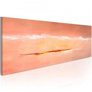 Ljuddämpande handmålad tavla - Seaside morgon - SilentSwede