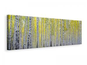 Ljuddämpande tavla - Autumnal Birch Forest - SilentSwede