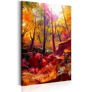 Ljuddämpande & ljudabsorberande tavla - Painted Forest - SilentSwede