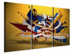 Ljuddämpande tavla - Graffiti Art - SilentSwede