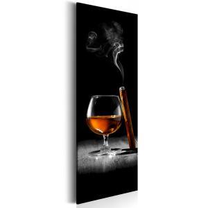 Ljuddämpande & ljudabsorberande tavla - Cigar and Cogniac - SilentSwede