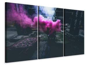 Ljuddämpande tavla - Art with smoke - SilentSwede
