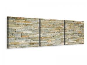 Ljuddämpande tavla - Noble Stone Wall - SilentSwede