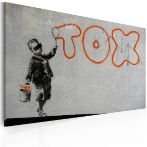 Ljuddämpande tavla - Wallpaper graffiti - SilentSwede