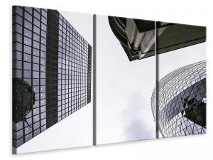 Ljuddämpande tavla - 3 buildings - SilentSwede