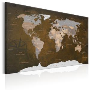 Ljuddämpande tavla - Cinnamon Travels - SilentSwede
