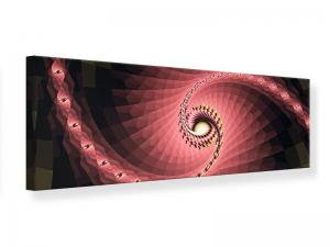 Ljudabsorberande panorama tavla - Abstract Windings - SilentSwede
