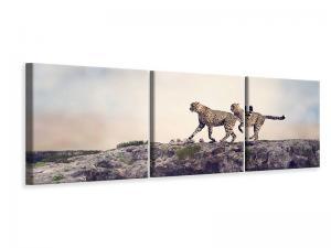 Ljuddämpande tavla - Two Cheetahs - SilentSwede