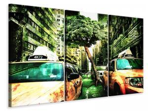 Ljuddämpande tavla - Taxi fantasy - SilentSwede