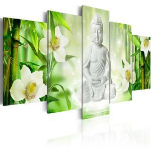 Ljuddämpande tavla - Buddha and jasmine - SilentSwede