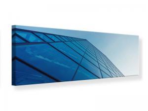 Ljudabsorberande panorama tavla - Skyscraper Highlight - SilentSwede